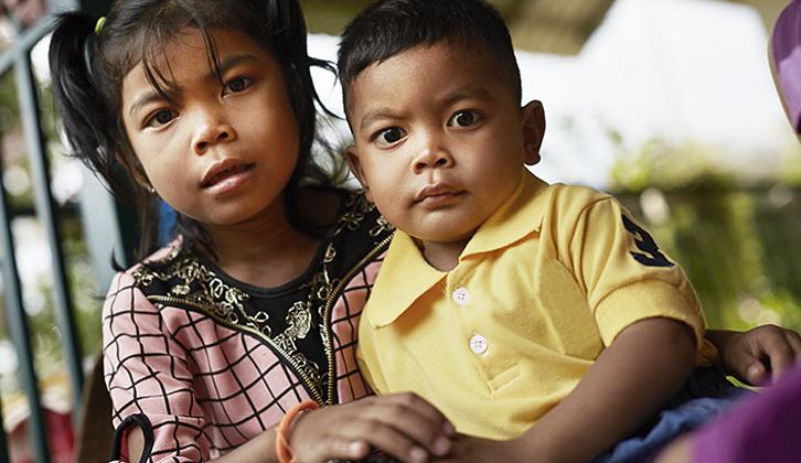 Børn Cambodja