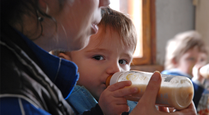 Dreng fra Bulgarien