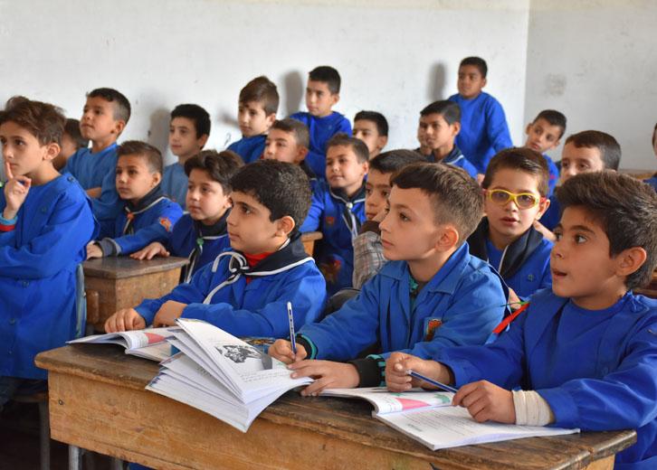 Skole i Syrien