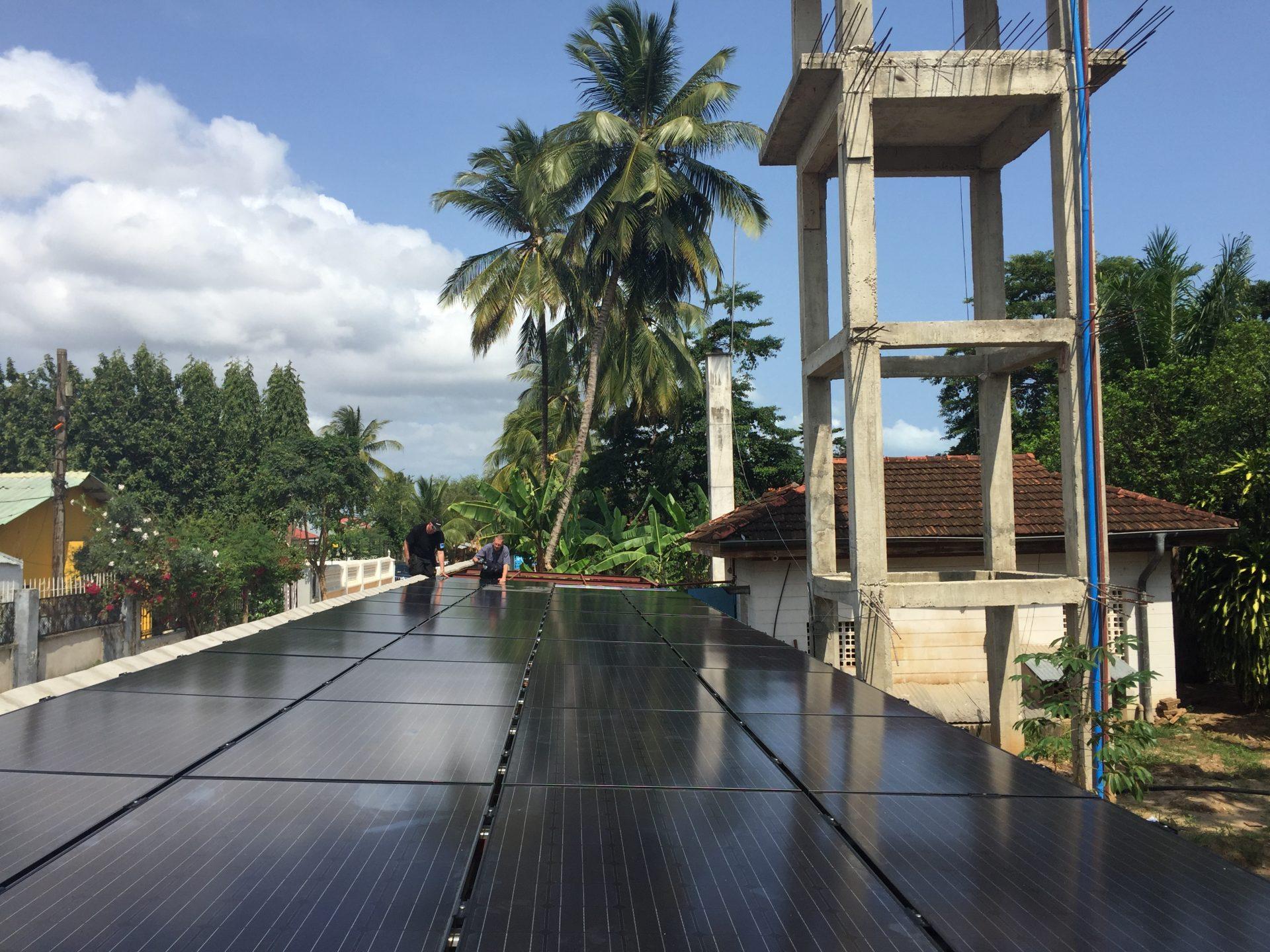Solcelleanlæg Zanzibar