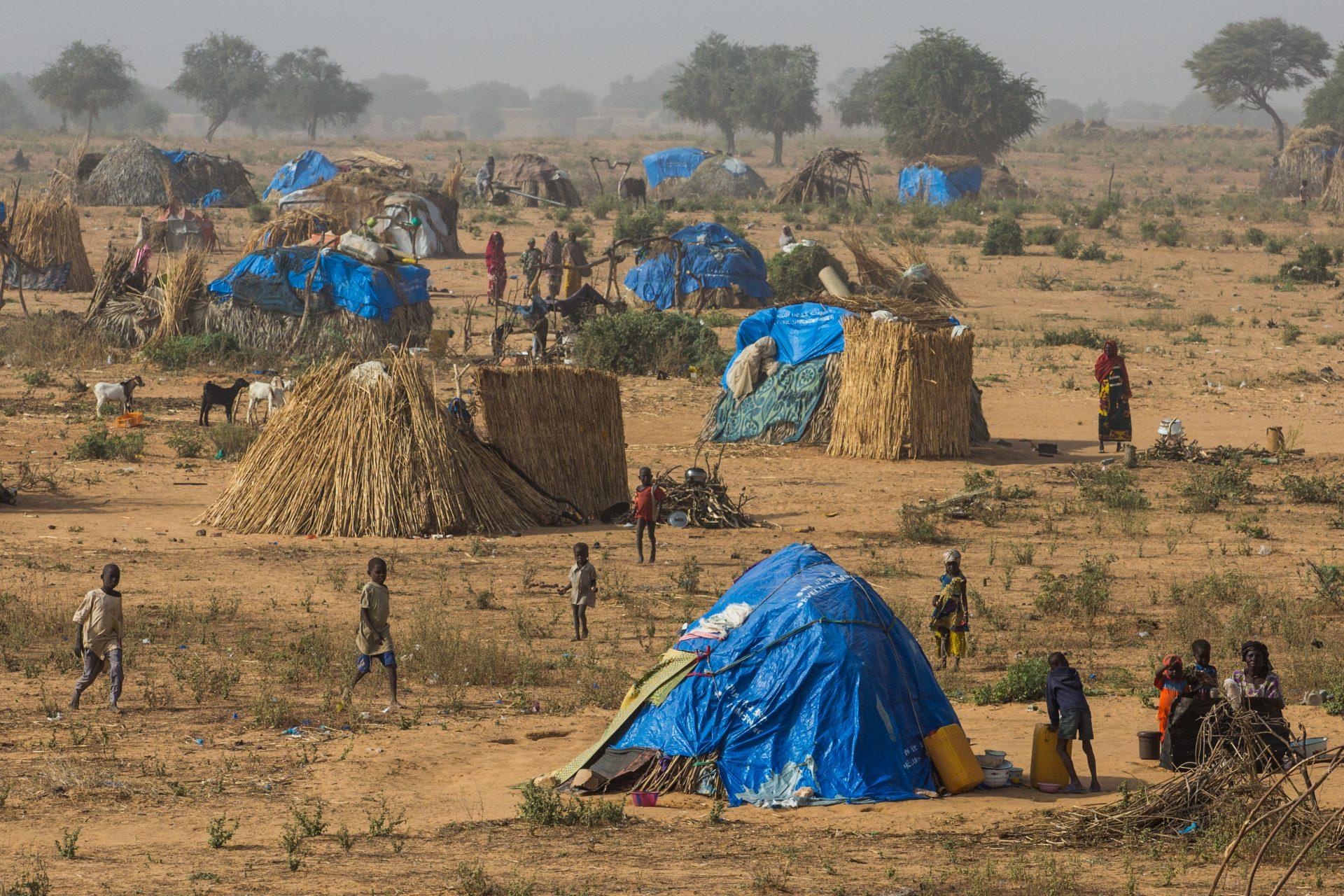 Flygtningelejr i Diffa regionen, Niger