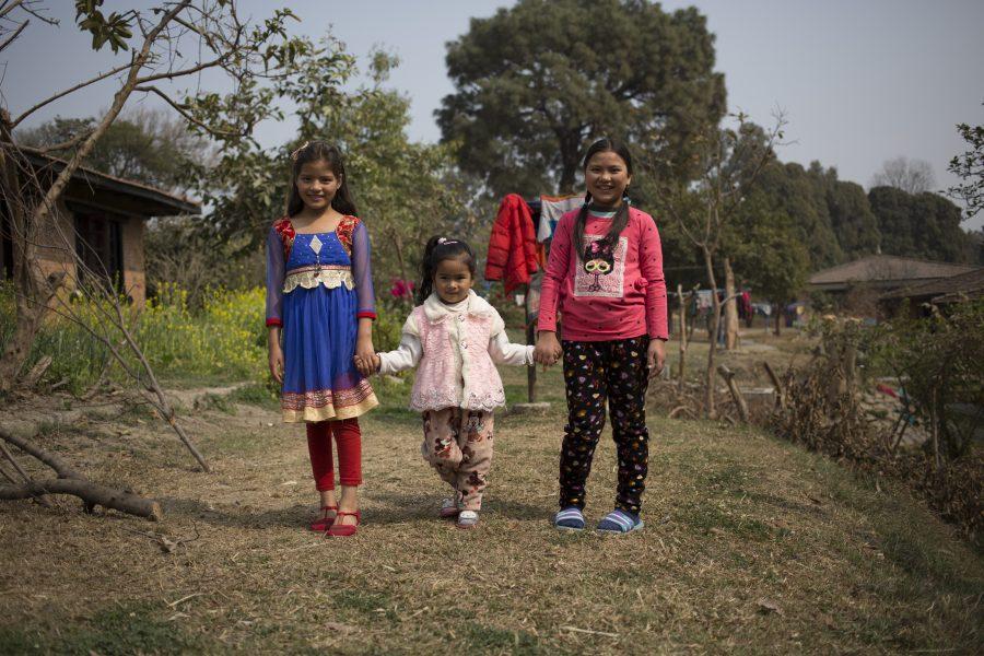 Nepal børneby jordskælv