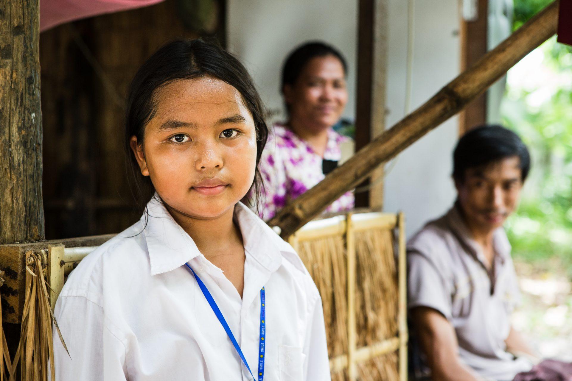 Cambodja ECCO walkathon Vichara skole stipendie