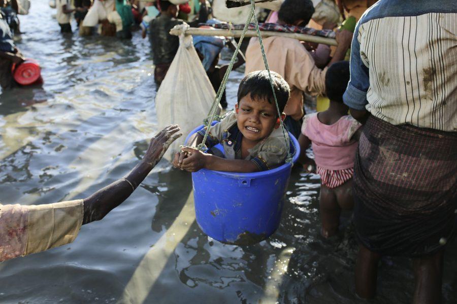 SOS Børnebyerne forbereder hjælp til rohingya-børn på flugt fra volden i Myanmar