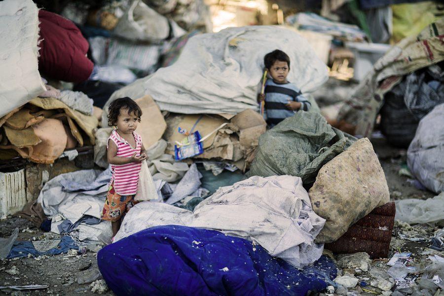 Hvert femte barn i Cambodja er tvunget ud i børnearbejde for at overleve. Foto: Marcus Frendberg